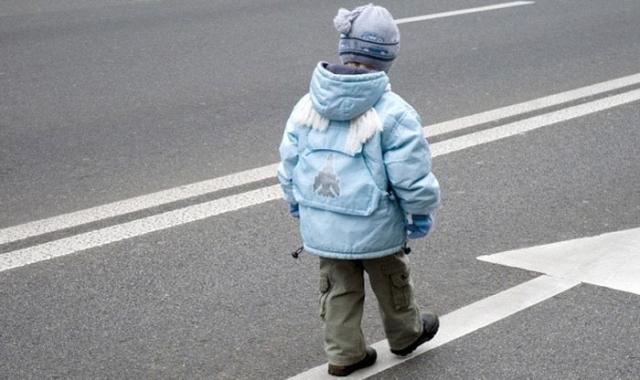 Что делать, если рёбенок выбегает на дорогу?