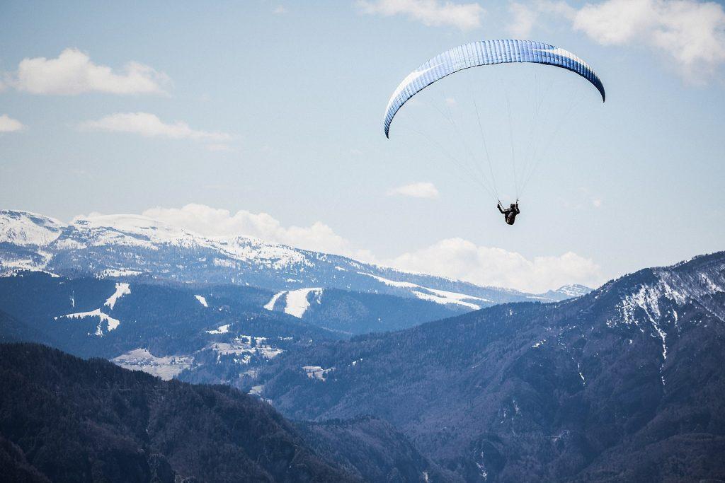 Взросление как прыжок с парашютом