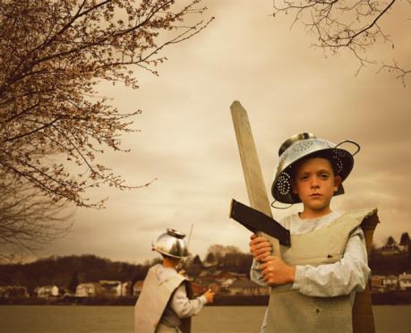 Можно ли мальчикам играть в «войнушки»?