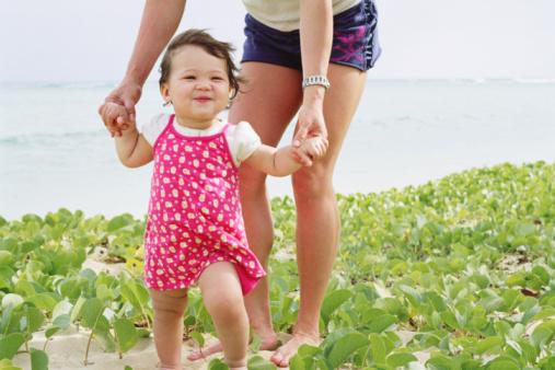 Уход за малышом: прогулки